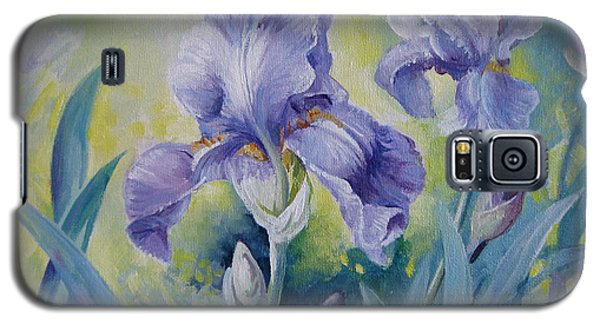 Irises Galaxy S5 Case by Elena Oleniuc