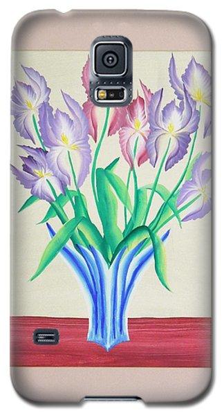 Irises Galaxy S5 Case by Ron Davidson