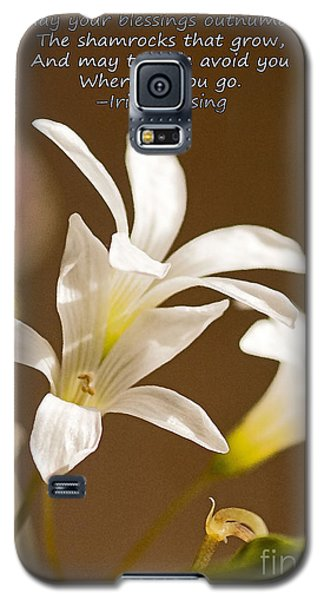 Irish Blessing Galaxy S5 Case