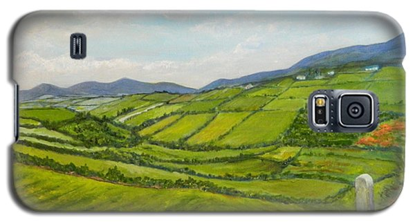 Irish Fields - Landscape Galaxy S5 Case by Sandra Nardone