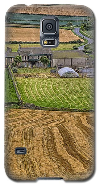 Galaxy S5 Case featuring the photograph Irish Mosaic by Gary Hall