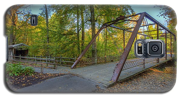 Galaxy S5 Case featuring the photograph Iron Bridge At Yellow Creek by Wendell Thompson