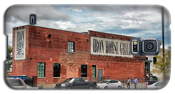 Iron Horse Grill Building Galaxy S5 Case