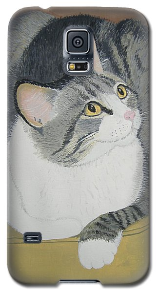 Galaxy S5 Case featuring the painting Is Dinner Ready by Norm Starks