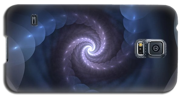 Galaxy S5 Case featuring the digital art Is There A Light At The End Of The Tunnel? by Svetlana Nikolova