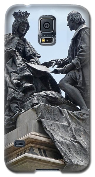 Isabella And Columbus Galaxy S5 Case by Phil Banks