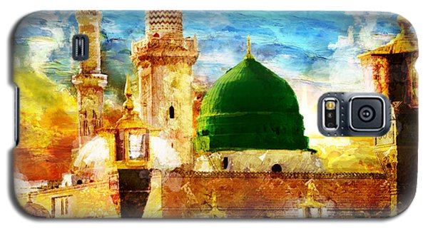 Islamic Paintings 005 Galaxy S5 Case by Catf