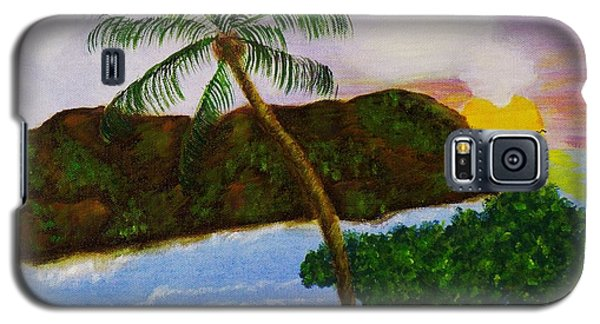 Island Escape Galaxy S5 Case by Celeste Manning