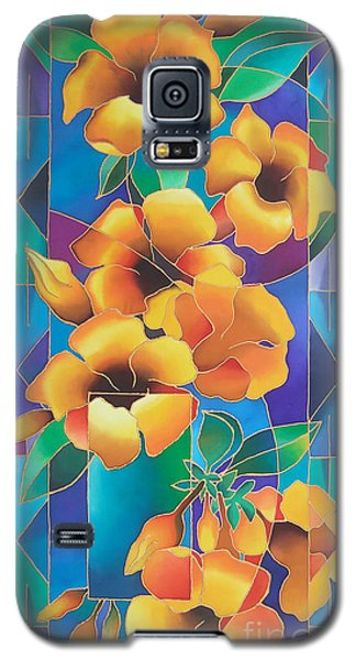 Island Flowers - Allamanda Galaxy S5 Case