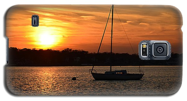 Island Heights Sunset Galaxy S5 Case