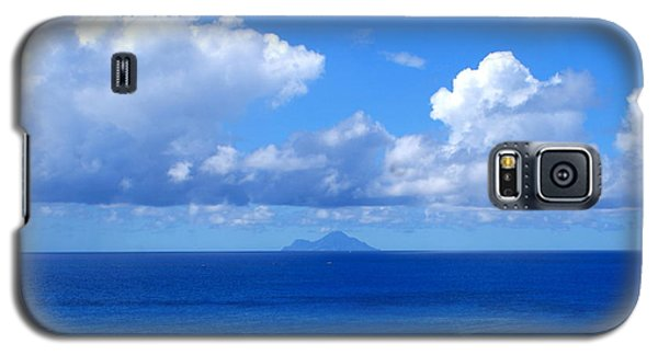 Galaxy S5 Case featuring the photograph Island In The Distance by Lois Lepisto