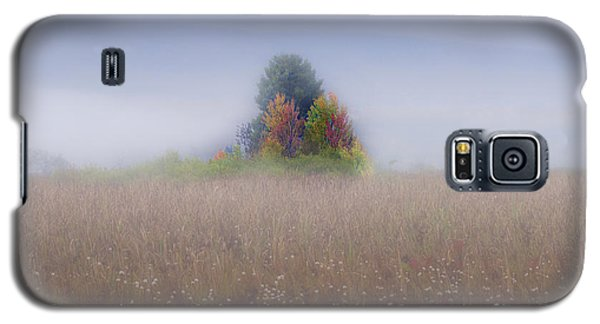 Island Of Color In Sea Of Fog Galaxy S5 Case
