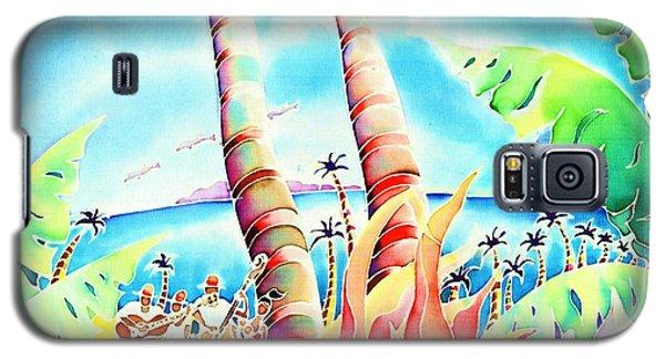 Island Of Music Galaxy S5 Case