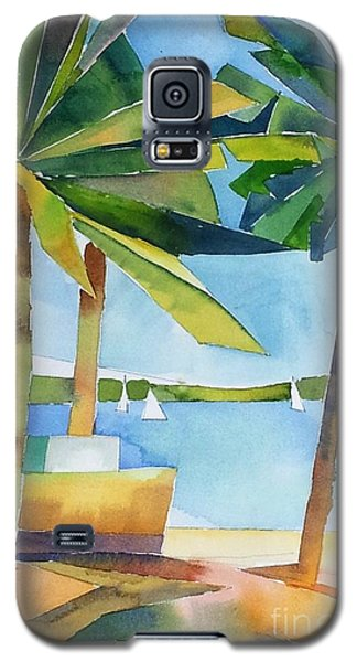 Island Palms Galaxy S5 Case by Yolanda Koh