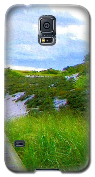 Island State Park Boardwalk Galaxy S5 Case