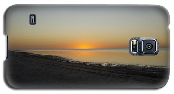 Galaxy S5 Case featuring the photograph Island Sunset by Robert Nickologianis