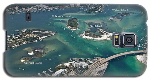 Islands Of Perdido - Labeled Galaxy S5 Case