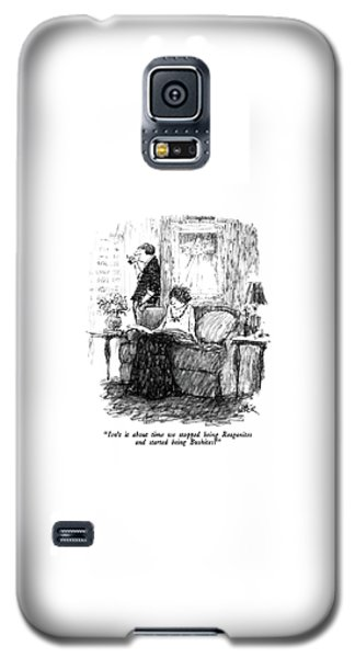 Isn't It About Time We Stopped Being Reaganites Galaxy S5 Case