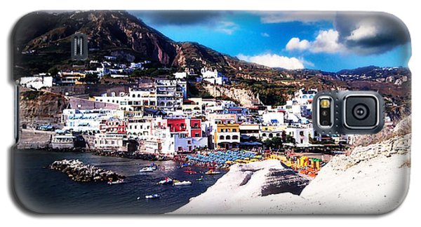 Isola Di Ischia Sant'angelo - The Island Of Ischia Sant'angelo Galaxy S5 Case by Ze  Di