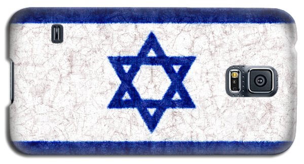 Israel Star Of David Flag Batik Galaxy S5 Case