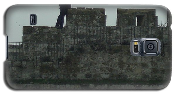 Israeli Soldier On The Walls Of The Old City Galaxy S5 Case by Esther Newman-Cohen