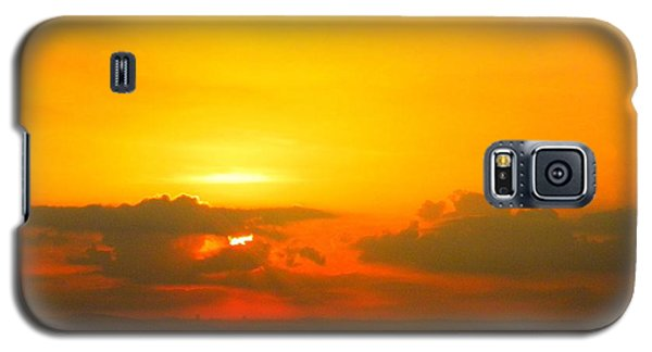 Galaxy S5 Case featuring the photograph Israeli Sunset by Robin Coaker