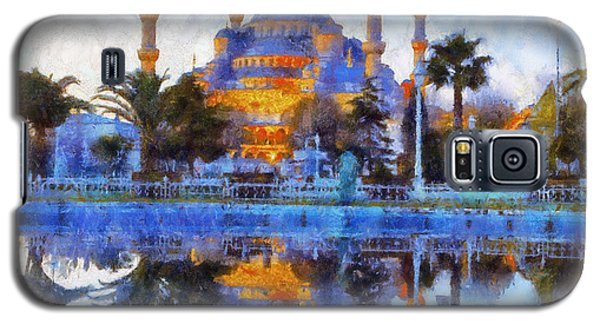 Istanbul Blue Mosque  Galaxy S5 Case by Lilia D