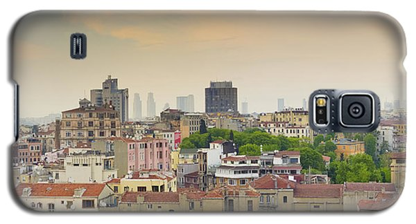 Istanbul Skyline Galaxy S5 Case by Hans Engbers