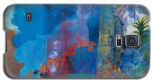 Galaxy S5 Case featuring the painting It Ain't A Fable Baby by Robin Maria Pedrero