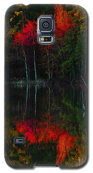 Galaxy S5 Case featuring the photograph It Fall Time Again by Donna Brown