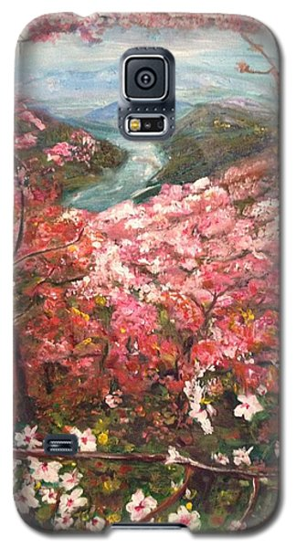 Galaxy S5 Case featuring the painting It Is Spring Everyday by Belinda Low