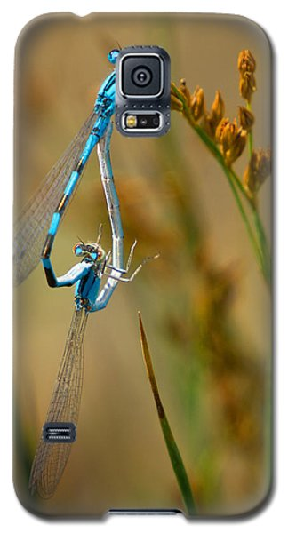 Galaxy S5 Case featuring the photograph It Must Be Love by Janis Knight