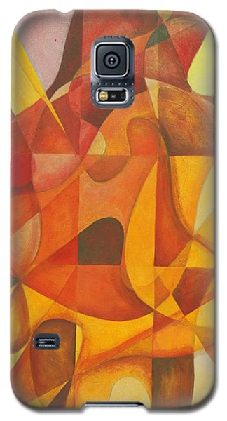 Galaxy S5 Case featuring the painting It Seemed So Pleasin' by Rick Ahlvers