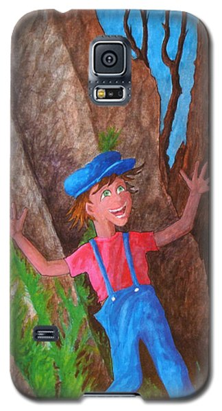 Galaxy S5 Case featuring the painting It Was Easy ... by Matt Konar