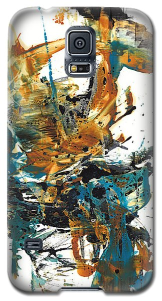 Galaxy S5 Case featuring the painting It Went This Way 136.090710 by Kris Haas