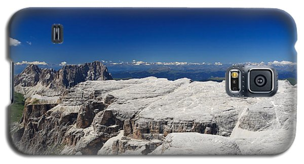 Galaxy S5 Case featuring the photograph Italian Dolomites - Sella Group by Antonio Scarpi