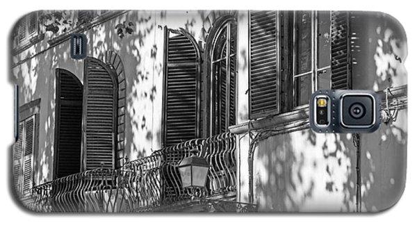 Italian Facade In Bw Galaxy S5 Case