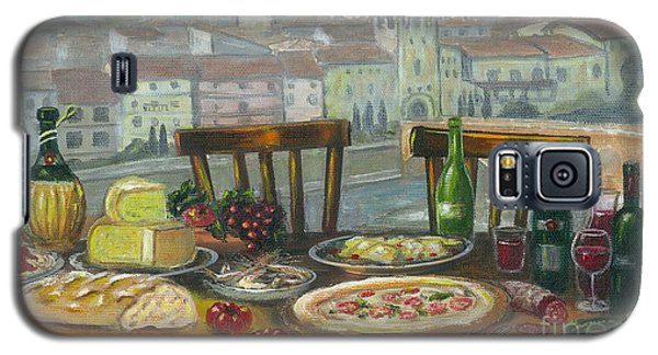 Italian Lunch Galaxy S5 Case
