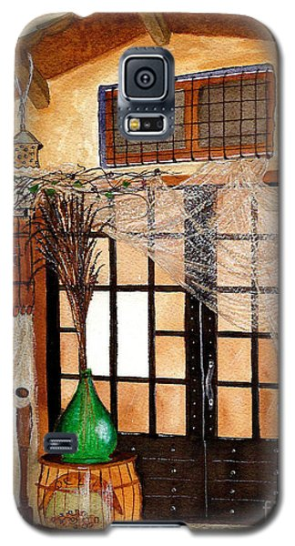 Galaxy S5 Case featuring the painting Italian Restaurant  by Nan Wright
