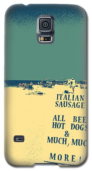 Galaxy S5 Case featuring the digital art Italian Sausage by Valerie Reeves
