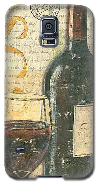 Wine Galaxy S5 Case - Italian Wine And Grapes by Debbie DeWitt