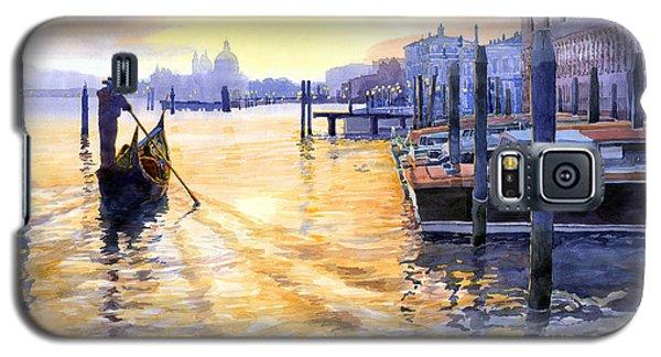 Town Galaxy S5 Case - Italy Venice Dawning by Yuriy Shevchuk