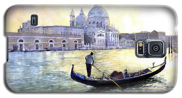Watercolor Galaxy S5 Case - Italy Venice Morning by Yuriy Shevchuk