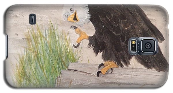 Galaxy S5 Case featuring the painting Itchy by Betty-Anne McDonald