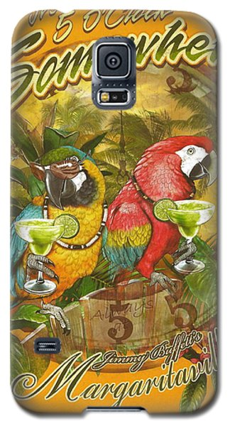It's 5 O'clock Somewhere Galaxy S5 Case by Desiderata Gallery