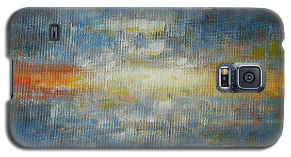 It's A Beautiful Day - Sapphire Galaxy S5 Case by Jane See