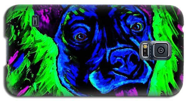 Galaxy S5 Case featuring the painting It's A Pitty Black Light by Lisa Brandel