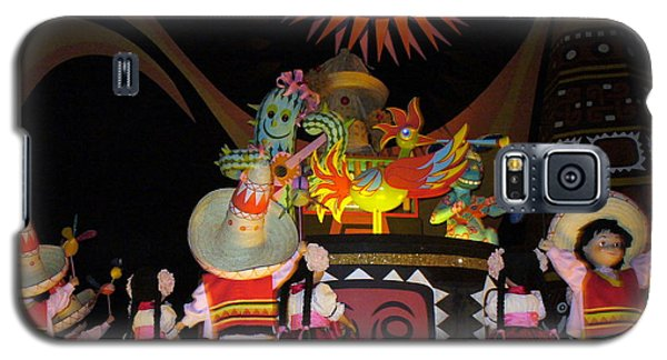 It's A Small World With Dancing Mexican Character Galaxy S5 Case by Lingfai Leung