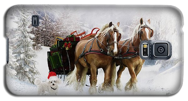 A Christmas Wish Galaxy S5 Case by Shanina Conway