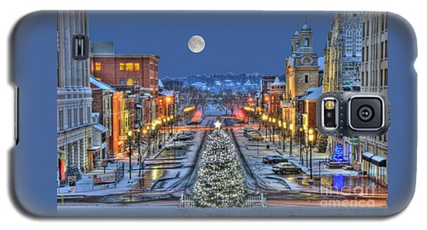 It's Christmas Time In The City Galaxy S5 Case